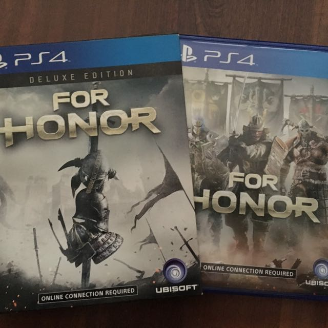 For Honor - Deluxe Edition (DVD+artbook)