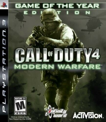 Call of Duty Modern Warfare 1 Game of the Year Edition