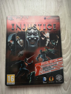 Injustice: Gods amoung Us [Red Son Edition, játék + Steelbook]