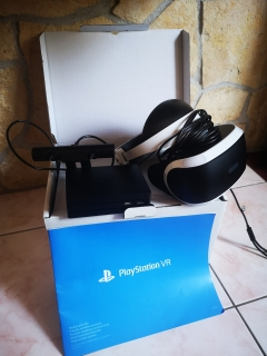 PlayStation VR v2 Headset + Camera Bundle