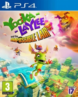 (új) Yooka Laylee The Impossible Lair